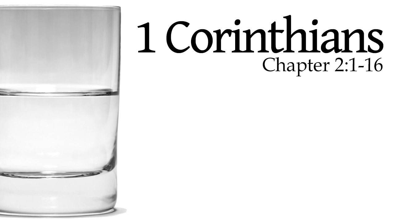 Featured HD 1Corinthians 2 1 16
