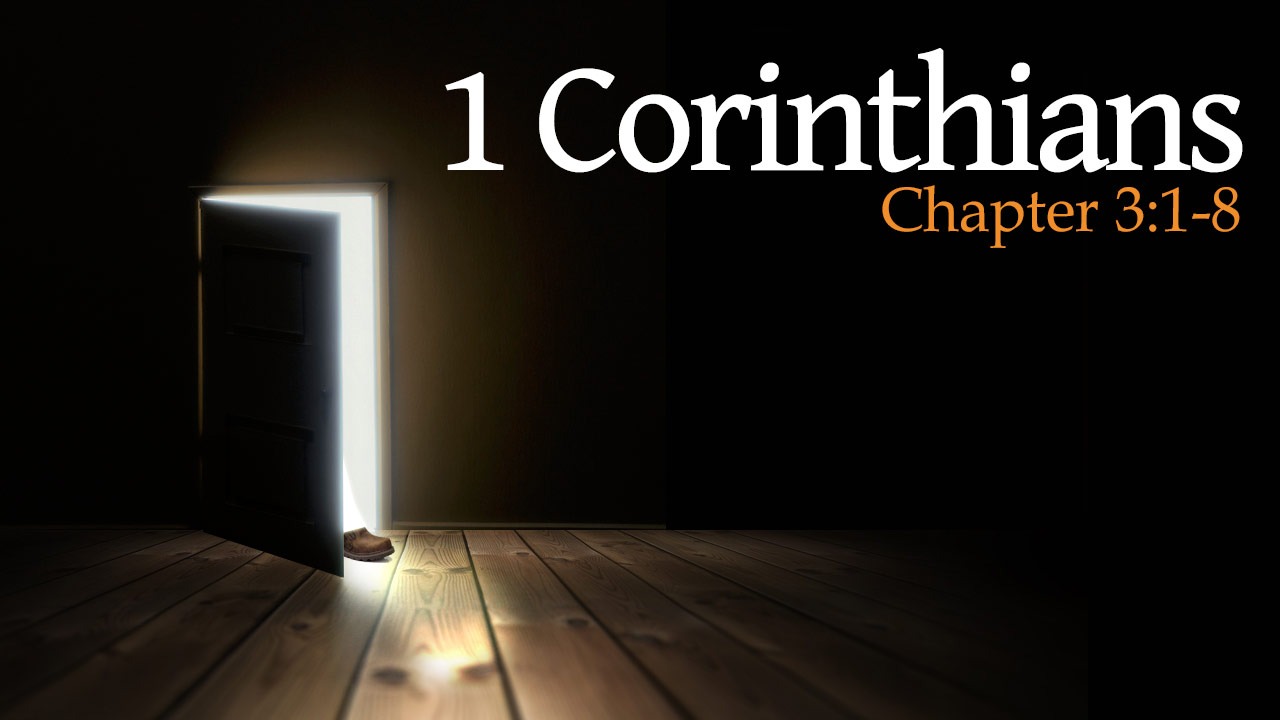Featured HD 1Corinthians 3 1 8