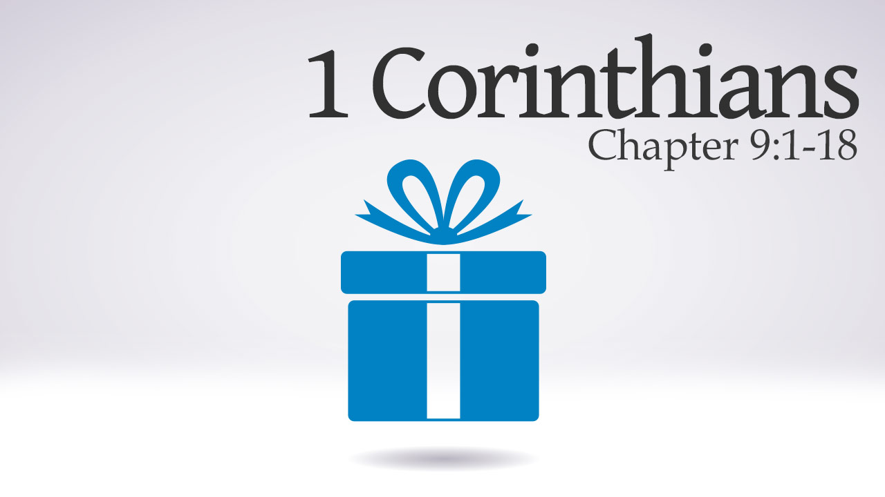 Featured HD 1Corinthians 9 1 18